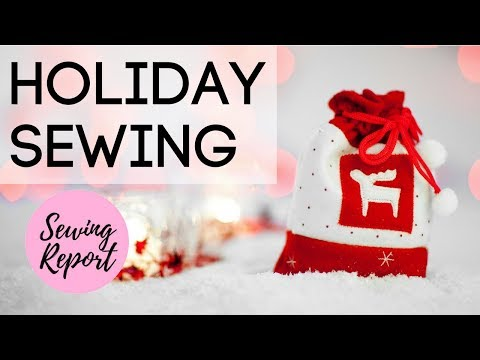 LIVE 🔴 DIY Christmas Gift Ideas 🎁 Sewing Handmade Gifts For The Holidays 🎄 | SEWING REPORT