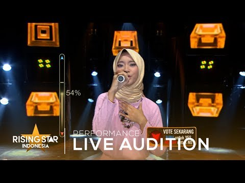 Cantika Salma 'Bukan Untukku' | Live Audition 1 | Rising Star Indonesia 2019