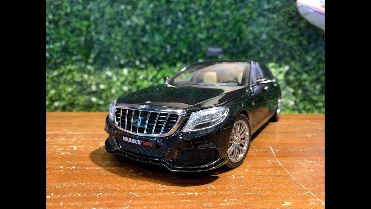 Brabus 900 Mercedes Benz Maybach S-Class Schwarz Black 1:18 Almost Real