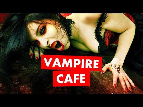 Vampire Cafe in Tokyo, Japan