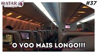 O QUE FAZER DENTRO DO AVIÃO? - BOEING 777 DA QATAR AIRWAYS - Estevam Pelo Mundo