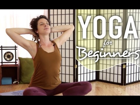 Yoga For Beginners - 15 Minute Neck & Shoulder Pain Yoga Class