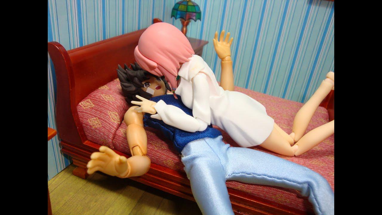 SEXY MAIDS (parte 9) - foto comic - manga - stopmotion Figma