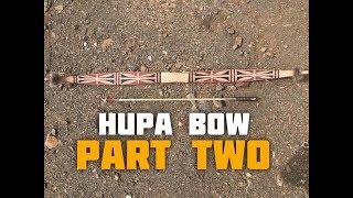 Hupa/Yurok Style Bow (Part 2 of 6)
