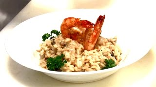 Italian seafood risotto reciepe