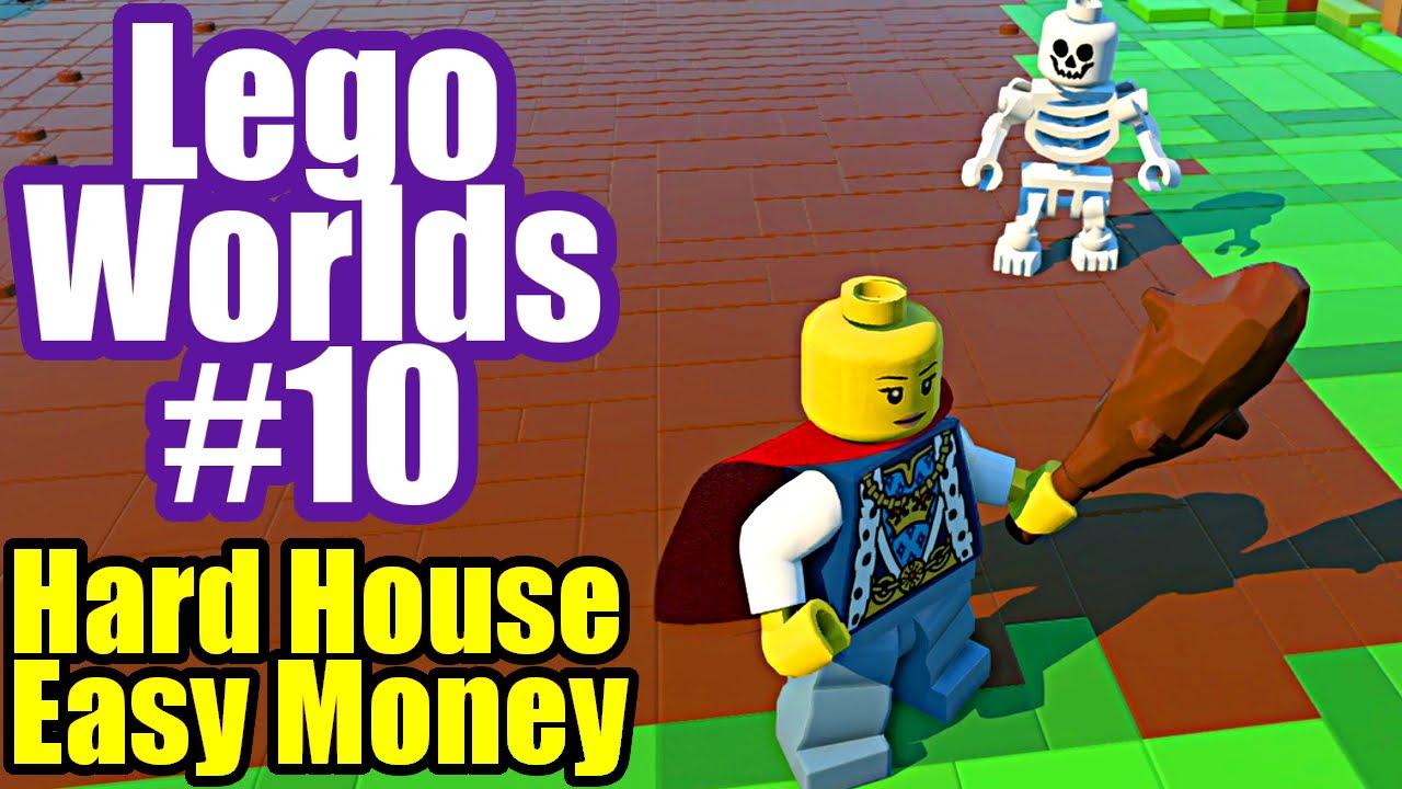 how to make a lego house easy