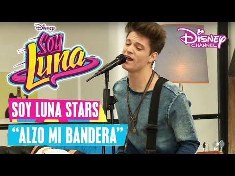 SOY LUNA 🎵 Soy Luna Stars - Alzo Mi Bandera | Disney Channel Songs