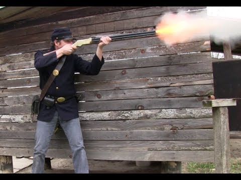 The 1860 Henry rifle