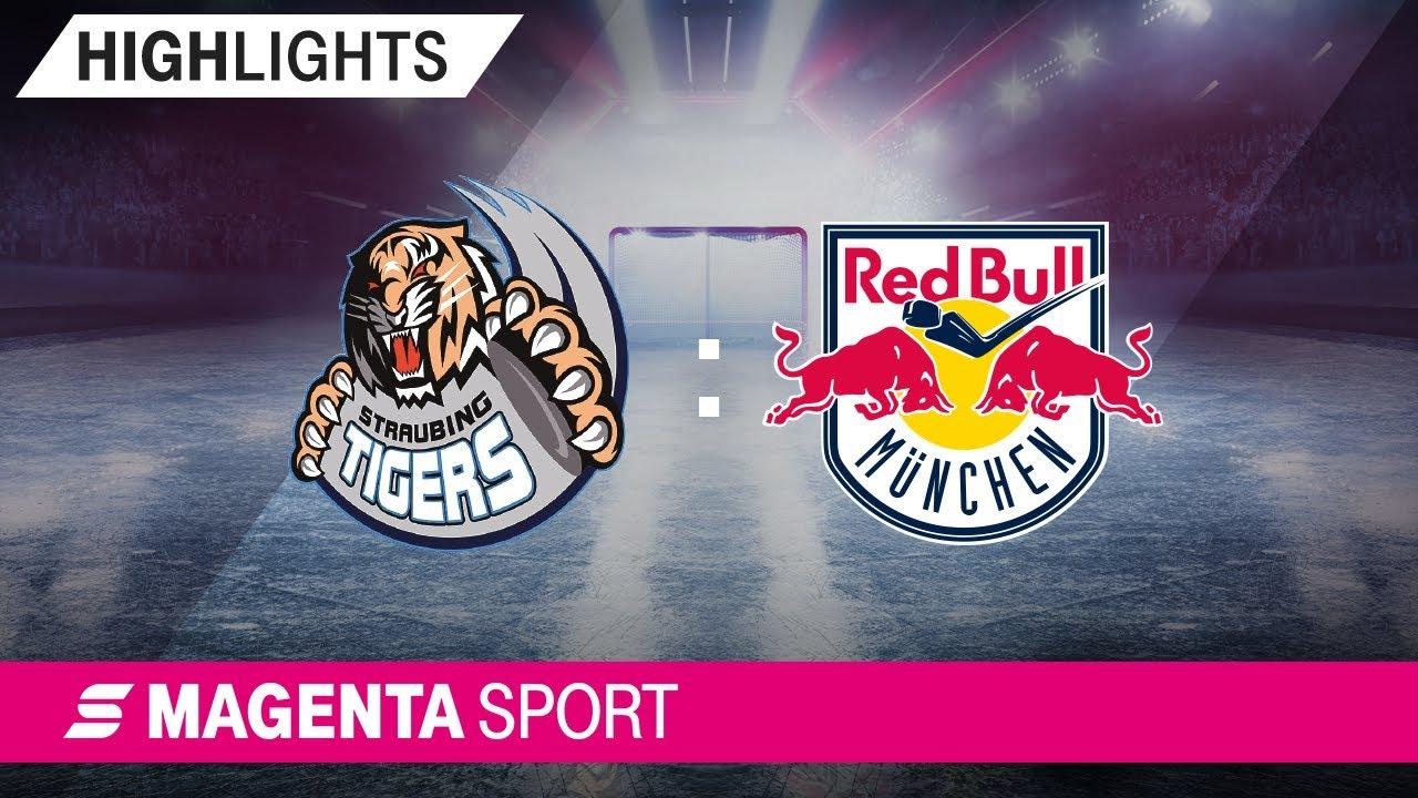Straubing Tigers - EHC Red Bull München | 41. Spieltag, 18/19 | MAGENTA SPORT