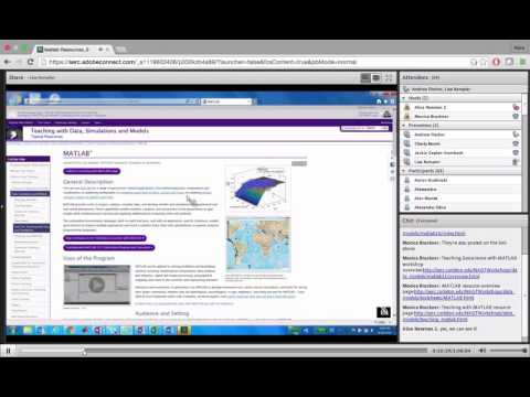 Developing Quantitative Skills Using Geoscience Data with MATLAB