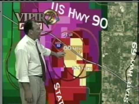 Tornado Approaching Marianna, FL