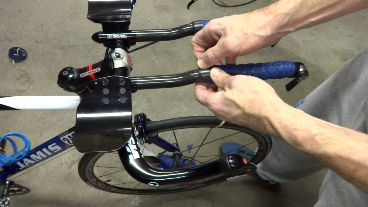 How To Wrap Triathlon Bike Aerobars Amp Basebar Handles