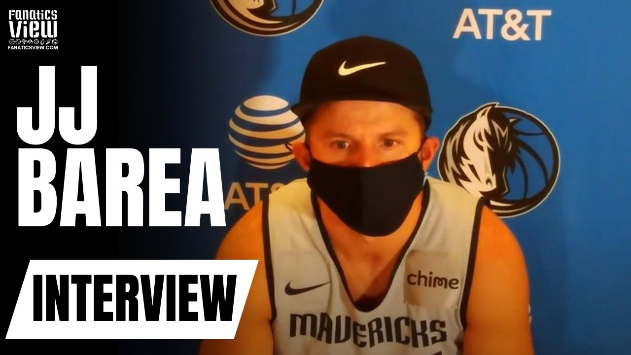 JJ Barea says Luka Doncic is the Best He's Ever Seen Him in the NBA Bubble & Talks Mavs GOAT Offense