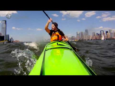New York Travel Guide: Kayaking in Manhattan - A People Shaped Travel video by Expedia.co.uk