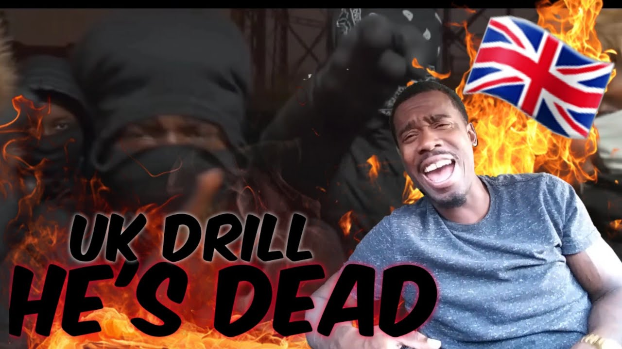 AMERICAN REACTS TO UK RAPPERS Jmash x RD x TM x Lil S - He's Dead