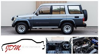 1993 Toyota Land Cruiser Prado Walkaround