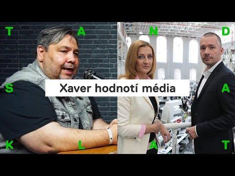 XAVER hodnotí DVTV, 168 hodin a Jaromíra Soukupa
