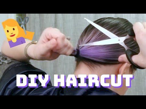 quarantine-haircut-diy-short-bob-success...?