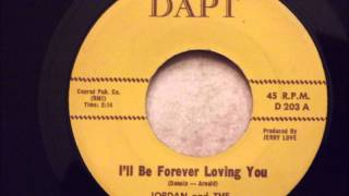 Jordan and The Fascinations - I'll Be Forever Loving You - Early 60's Doo Wop Rocker