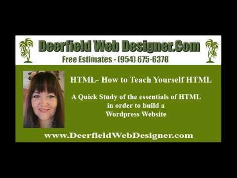 DIY Websites - How To Teach Yourself HTML