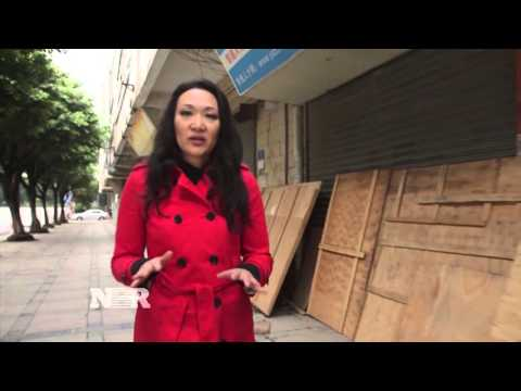 China factories hard hit