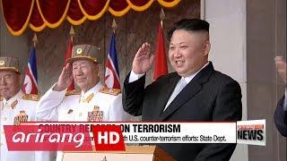 U.S. leaves North Korea off list of state sponsors of terrorism