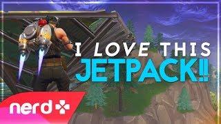 Jetpack Jack!! | Fortnite Battle Royale | NerdOut!