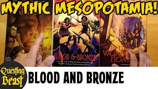 Blood and Bronze: Old-School RPG Review