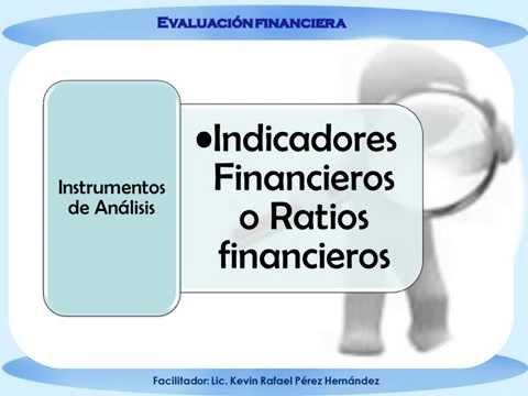 EVALUACION FINANCIERA indicadores