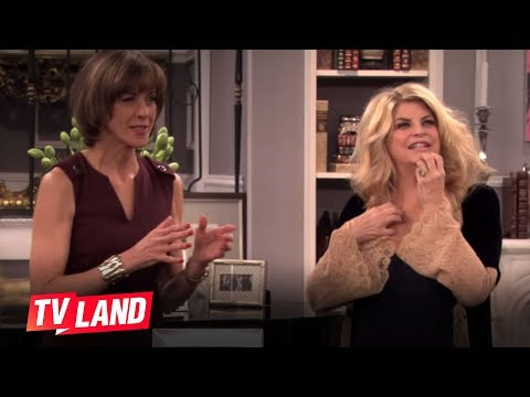 Kirstie Alley Blooper on Hot in Cleveland