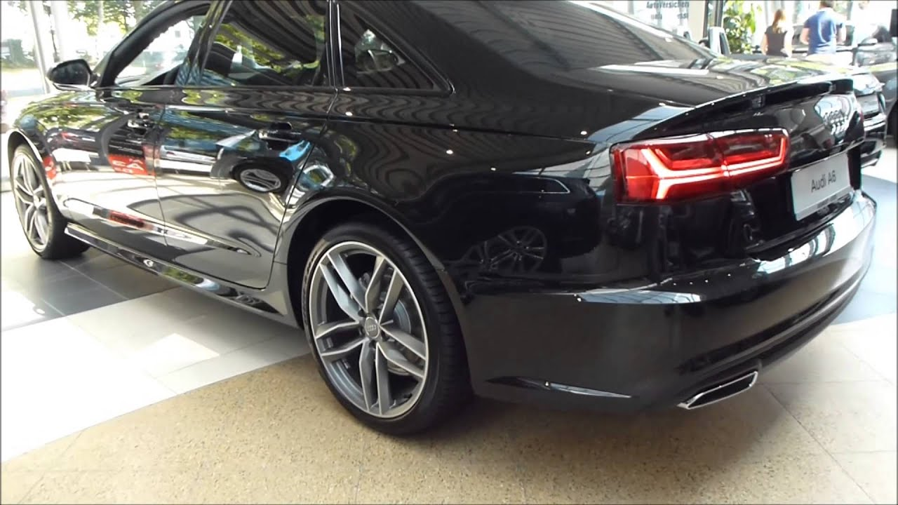 2015 audi a6 quattro 39 39 s line 39 39 exterior interior 3 0 tfsi 310 hp see also playlist youtube. Black Bedroom Furniture Sets. Home Design Ideas