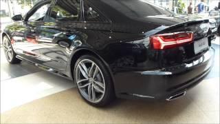 2015 audi a6 quattro s line exterior interior 3 0 tfsi 310 hp see also playlist
