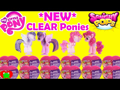 My Little Pony Squishy Pops Series 2 CLEAR Ponies