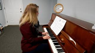 Melody in C - Taken from Sonata in A by Wolfgang Amadeus Mozart