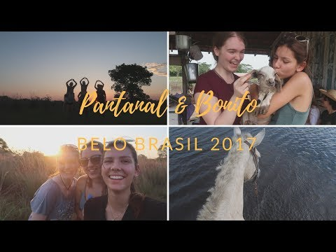 PANTANAL & BONITO TRIP P. 1 - Belo Brasil 2017 / RYE 2017/18 Brazil