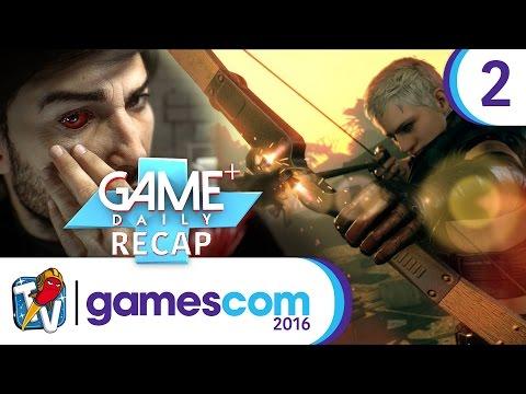 gamescom 2016 | Recap Tag 2: Hitman, Metal Gear Survive, Prey - Game Plus Daily 2/4 | 18.08.2016