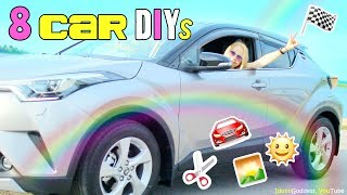 8 DIY Projects And Life Hacks For Cars – How To Make Awesome Car Accessories For Cheap