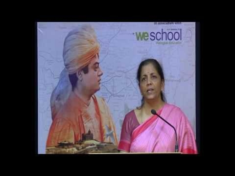 "Smt. Nirmala Sitharaman in Vivekananda kendra's ""North East Calling"" Event on 24-03-17"