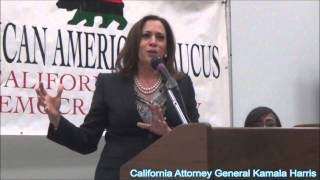 California Attorney General Kamala Harris, From YouTubeVideos