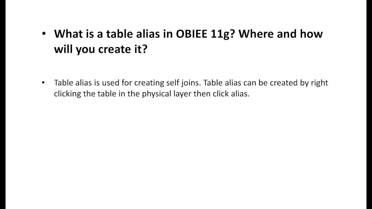 obiee interview questions and answers top  obiee interview questions and answers top 10