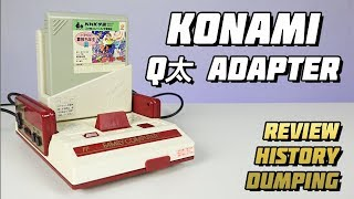 Konami QTa Adapter и Space School для Nintendo Famicom // Extra Life