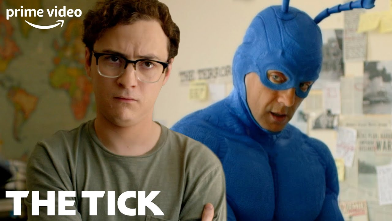 Download The Tick Tries to Enlist Arthur as His Sidekick   The Tick   Prime Video