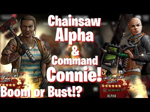 TWD RTS: New Legendary Alpha & Connie - Boom or Bust?!