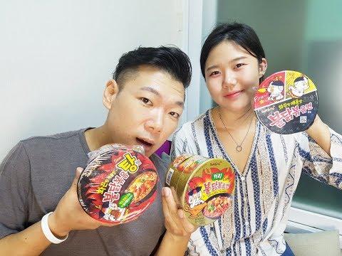 LIVESTREAM: HUGH AND TRAINER YOOJIN - SPICY KOREAN NOODLES
