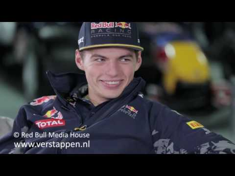 Max Verstappen and Daniel Ricciardo 2016 End Of Season Review, 23/11/2016