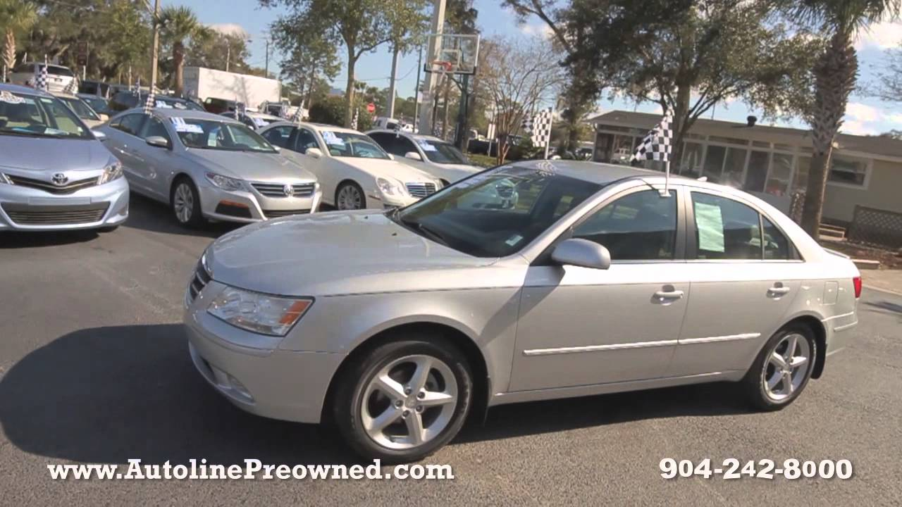 2009 Hyundai Sonata SE At Autoline Preowned For Sale Used Test Drive Review  Jacksonville