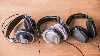 AKG/Beyerdynamic/Sennheiser - fight of the classics
