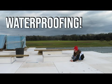 WATERPROOFING OUR SKYLIGHTS | Container House EP 28