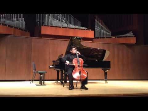 Noah Seng-hui Koh Senior Recital. Bach Suite No. 5