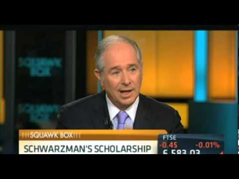 Steve Schwarzman discusses Tsinghua scholarship